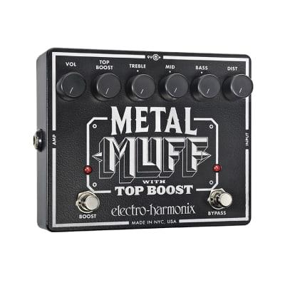 Electro Harmonix Metal Muff XO with Top Boost Distortion Pedal