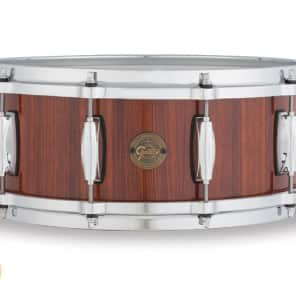 "Gretsch Gold Series 5.5x14"" Rosewood Snare Drum"