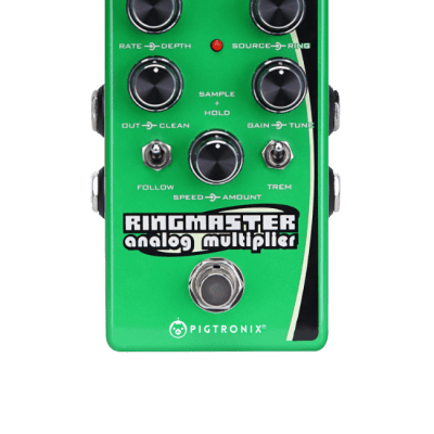 Pigtronix Ringmaster Ring Modulator Analog Multiplier