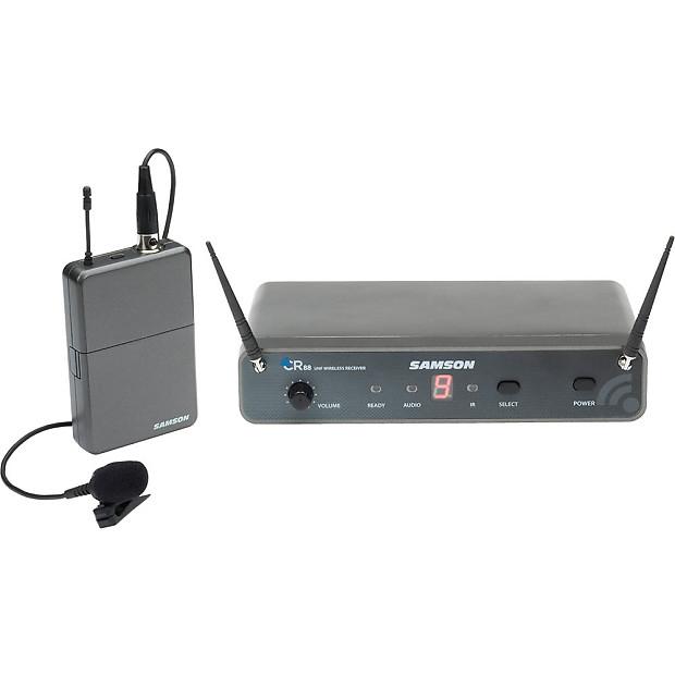 samson concert 88 wireless presentation system lavalier mic reverb. Black Bedroom Furniture Sets. Home Design Ideas