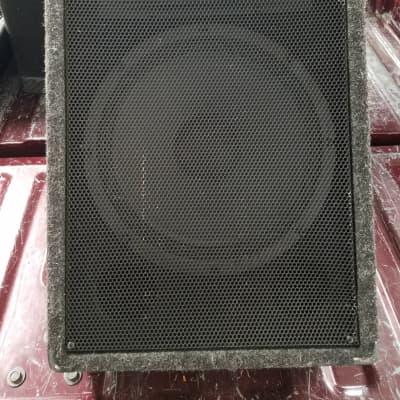 "CGM 12"" Floor Monitor Wedge 2008 Grey Carpet"