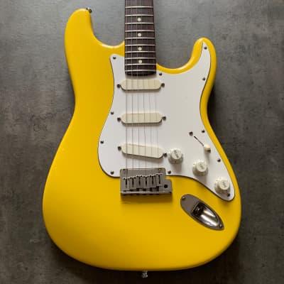 Fender Strat plus  1988 Graffiti Yellow for sale