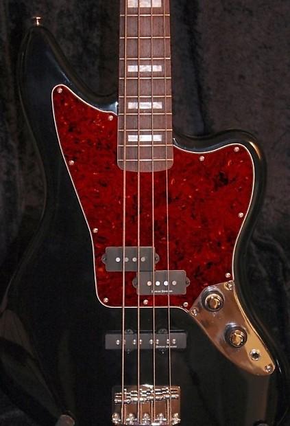 squier vm jaguar bass pickguard 4 ply vintage tort reverb. Black Bedroom Furniture Sets. Home Design Ideas