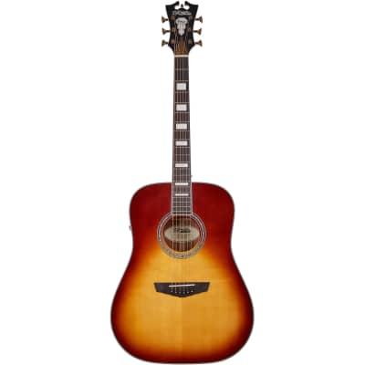 D'Angelico Premier Lexington Iced Tea Burst Electro-Acoustic Guitar for sale