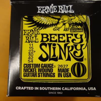 Ernie Ball 2627 Beefy Slinky 11-54 Nickel Wound Full Box 12 sets