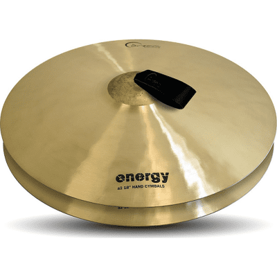 "Dream Cymbals 18"" Energy Series Orchestral Crash Cymbals (Pair)"