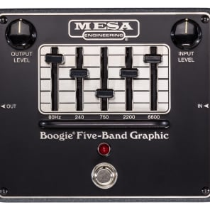 Mesa Boogie Boogie 5 Band Graphic EQ for sale