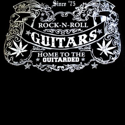 Home To The Guitarded T-Shirt Medium
