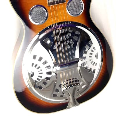 Gold Tone PBS-D Paul Beard Signature-Series Squareneck Resonator Guitar Deluxe w/Hardshell Case for sale