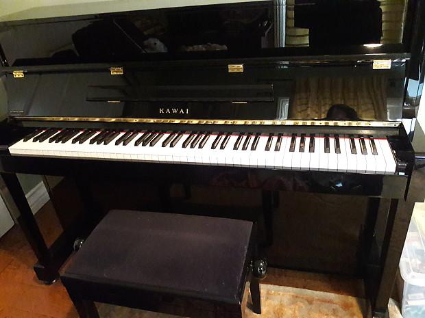 Kawai Upright Pianos >> Kawai Upright Piano 44 80 S Black Dafna S Boutique