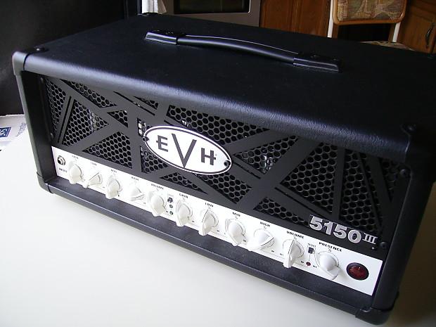 b6e817e4624 FENDER EVH 5150 III 50 WATT AMP HEAD - EXCELLENT with