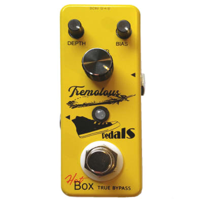 Hot Box Pedals HB-T58 Tremolous Optical Tremolo Attitude Series Guitar Effect Pedal