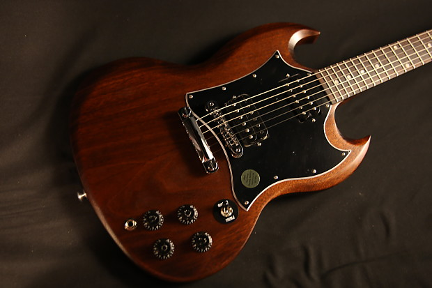 Gibson SG Special Faded T Worn Brown 2016 With Upgrades