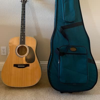 Elezan AL-100 dreadnaught acoustic electric for sale