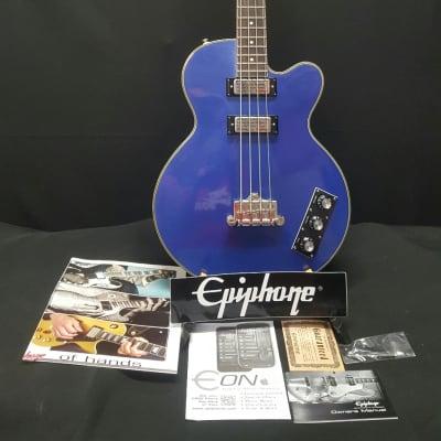 Epiphone Allen Woody Signature Bass  Blue Royale