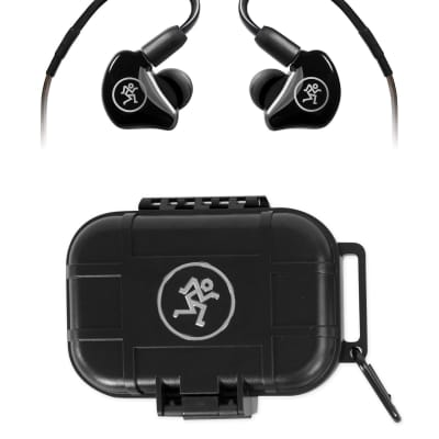 Mackie MP-120 BTA Single Dynamic Driver Professional In-Ear Monitors w/Bluetooth