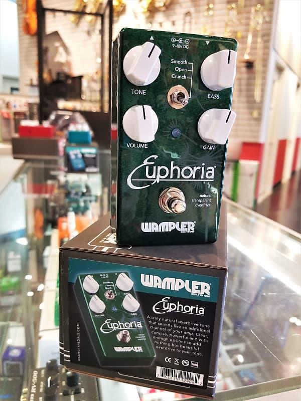 wampler euphoria v2 transparent overdrive and boost pedal reverb. Black Bedroom Furniture Sets. Home Design Ideas