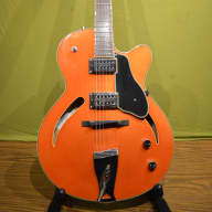 Gretsch G-3161 Historic Series Streamliner Hollowbody 2003 Orange - SSC Included for sale