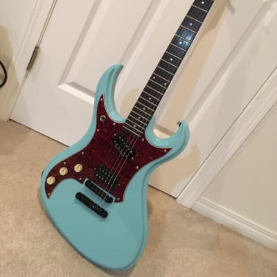 Left Handed Hahnster's Monster Lutherie Ondori #7 (Tokai Hummingbird) for sale