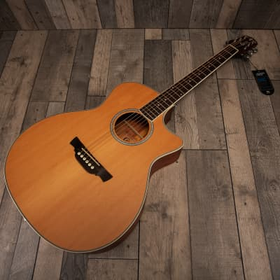 Crafter GAE-7 N Natural Electro Acoustic Guitar for sale