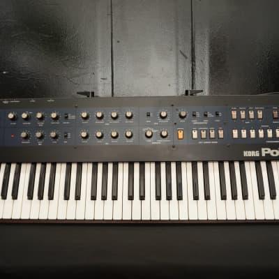 KORG Polysix Vintage 80's Polyphonic Analogue Synthesiser - 100V