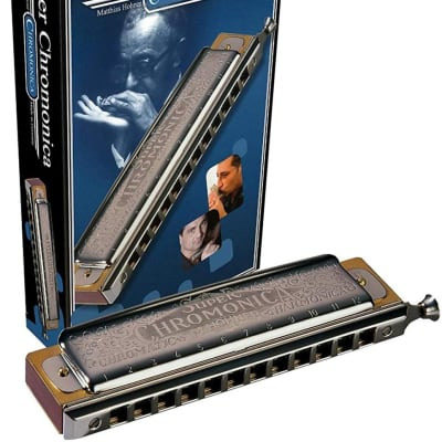 Hohner Harmonica - Super Chromonica 270 - Key Of A