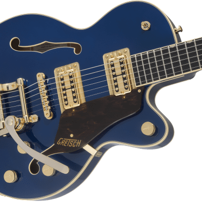 NEW Gretsch G6659TG Players Edition BroadkasterJr Single Cut Bigsby Azure Metallic Authorized Dealer