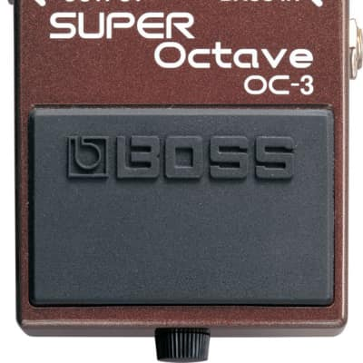 Boss OC-3 Super Octave Effect Pedal for sale
