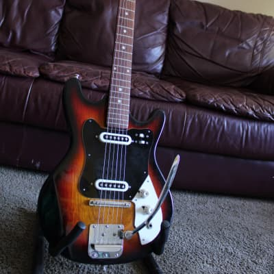 Canora Single coil Early 70's Sunburst for sale