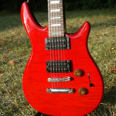Made in USA Peavey Impact Torino I  Trans Red hardshell case included for sale