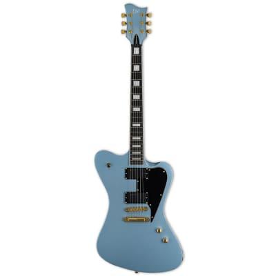 ESP Sparrowhawk Bill Kelliher Electric Guitar w Case Pelham Blue for sale