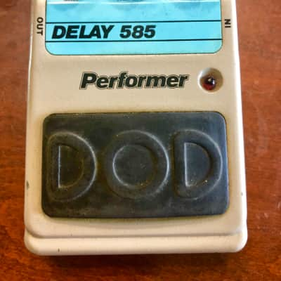 Dod Performer Analog Delay 585 Pedal effect 1980 for sale