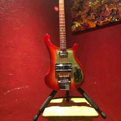 Rickenbacker 4001c64 1964 Macca Repro 4001 4003  2003 Fireglo Gold for sale