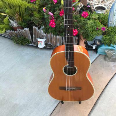 Rare Vintage 1957 Hopf Classical Concert Acoustic Guitar for sale