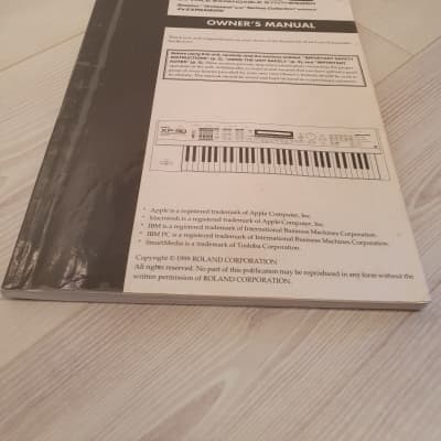 Roland XP-30 Manual Plus XP-30/JV-1010 CD Manual. English Language. Global Ship.  2 Of 3