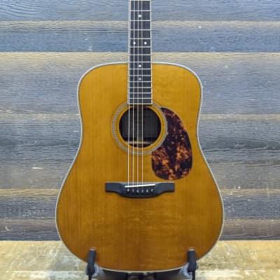 Boucher SG-52-CG Studio Goose Dreadnought Gold Touch Acoustic Electric Guitar w/Case