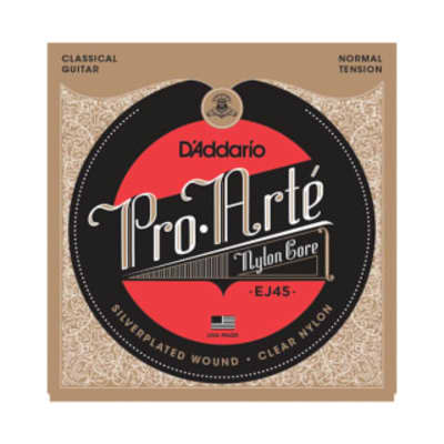 D'Addario EJ45 Pro-Arte Nylon String Set Normal Tension