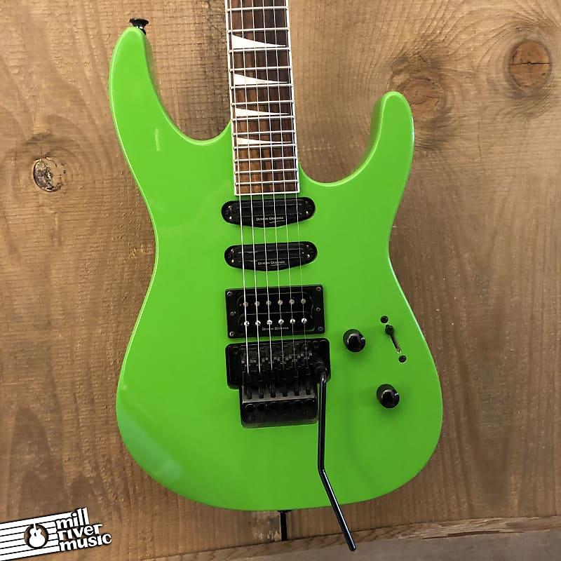 Jackson X Series SL3X Soloist Electric Guitar Slime Green 2015