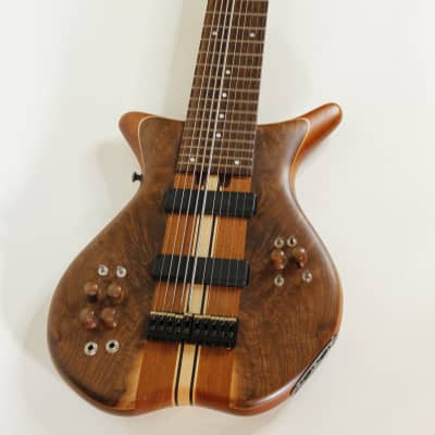 Warr Trey Gunn Signature 10-string 2007 Figured Walnut for sale