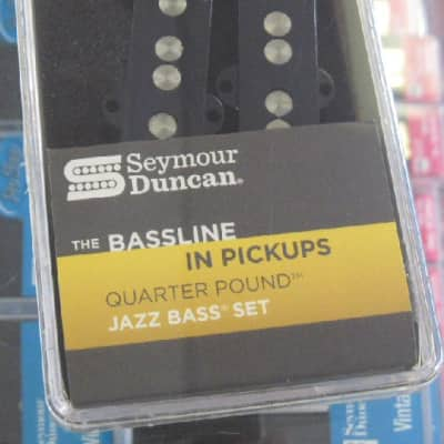 Seymour Duncan Quarter Pound Jazz Bass Set SJB-3s image