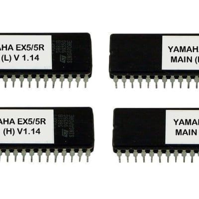 Yamaha EX5 EX5r firmware OS upgrade update version 1.11 / 1.14 (main+voice)