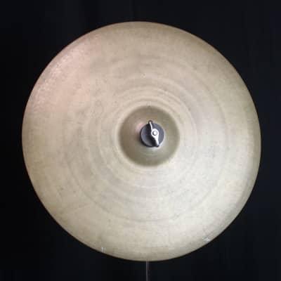 "A. Zildjian 16"" Pre-Transition Stamp Crash Cymbal 1929 - 1945"