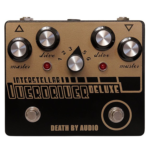 death by audio interstellar overdriver deluxe pedal reverb. Black Bedroom Furniture Sets. Home Design Ideas