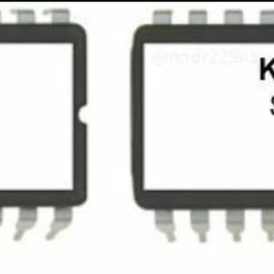 KURZWEIL K2VX Setup Eproms V5 - for K2000 K2000R K2000RS