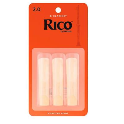 3 Pack Rico Alto Saxophone Reeds # 1.5 Strength 1 1//2 RJA0315