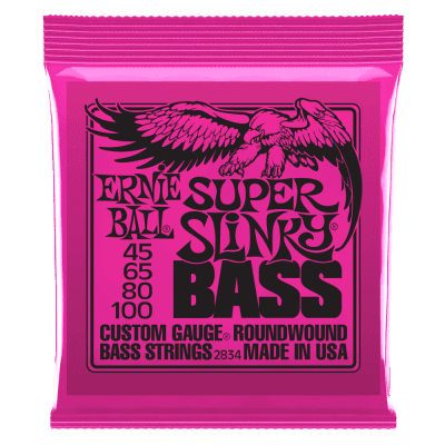 Ernie Ball Super Slinky Bass Strings 45-100