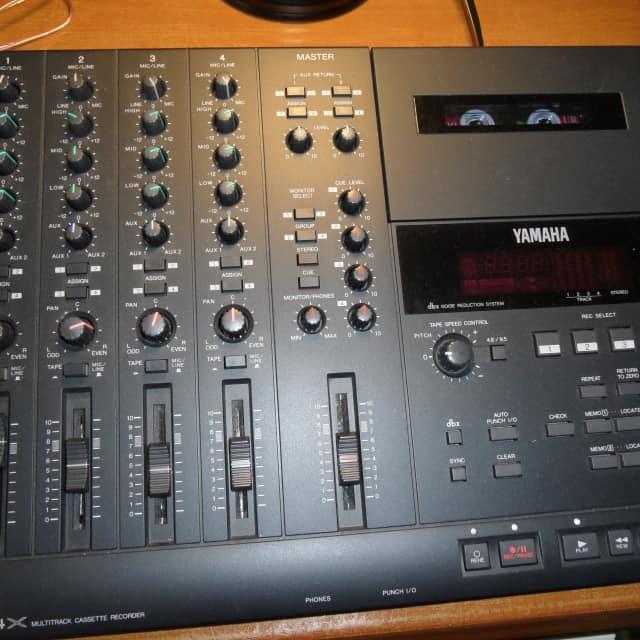 Yamaha MT4X portastudio cassette four track Recorder image