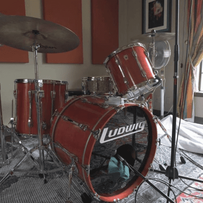 Player Grade Ludwig Classic Maple Drum Kit (90s)