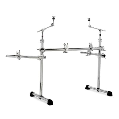 Gibraltar GCS375R Chrome Series Power Rack System with Wings and Boom Arms
