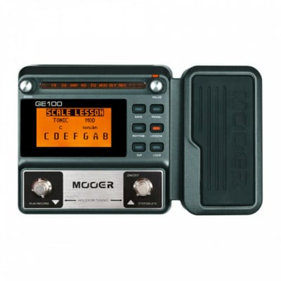 Mooer GE100 Guitar Multi-Effects Processor Pedal for sale